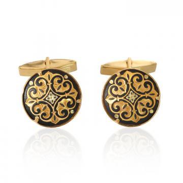 Butoni incrustati cu aur - Toledo de la Luxury Concepts Srl