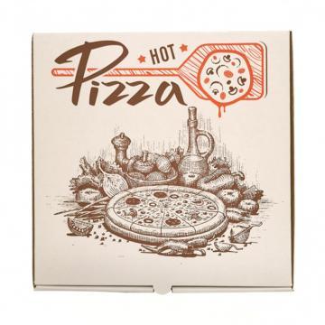 Cutie pizza 40*40*3.5 cm alba de la Sanito Distribution Srl