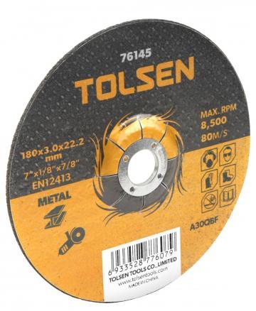 Disc de taiere cu centru coborat (metal) 230x3x16 mm de la Micul Gospodar