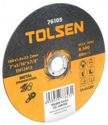 Disc plat de taiere (metal si otel inoxidabil) 125x1.2x22mm de la Micul Gospodar