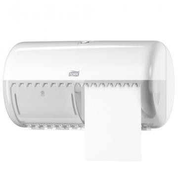 Dispenser hartie igienica 2 role Tork alb de la Sanito Distribution Srl