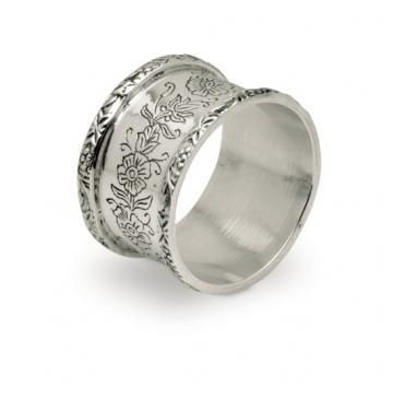 Inel argintat pentru servetele by Sheffield - Chinelli Italy