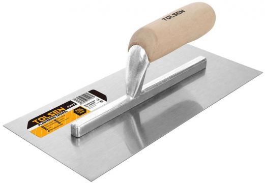 Mistrie pentru tencuit 280x120 mm maner din lemn de la Micul Gospodar