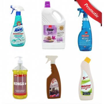 Detergenti pentru curatenie si igiena
