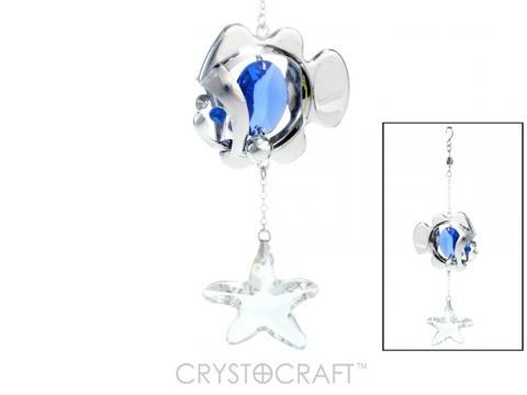 Figurina Pestisor cu cristale Swarovski de la Luxury Concepts Srl