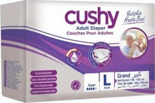 Scutece adulti Cushy L-Large, 30 buc/set
