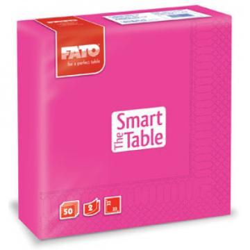 Servetele 33x33 cm, 2 straturi, Smart Table Fuchsia, Fato de la Sanito Distribution Srl