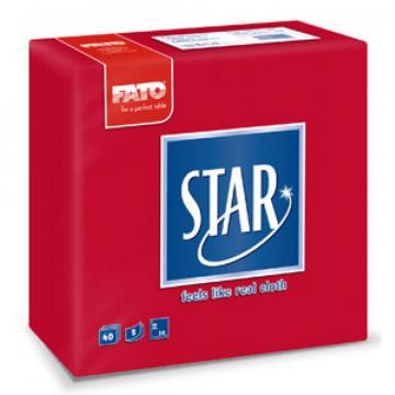 Servetele 38x38 cm, 2 straturi, embosate, Star Red, Fato