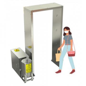 Sistem ultrasonic de dezinfectie pentru interior