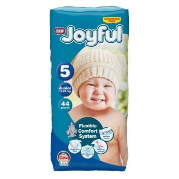 Scutece copii Joyful, 132 buc/set, Marime 5, Junior, 11-25 de la Europe One Dream Trend Srl