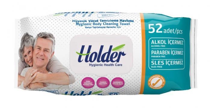 Servetele umede igienice, Holder, 52 buc de la Europe One Dream Trend Srl