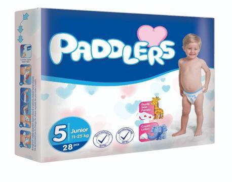 Scutece copii Paddlers, marime 5, Junior 104 buc/set 11-25kg de la Europe One Dream Trend Srl
