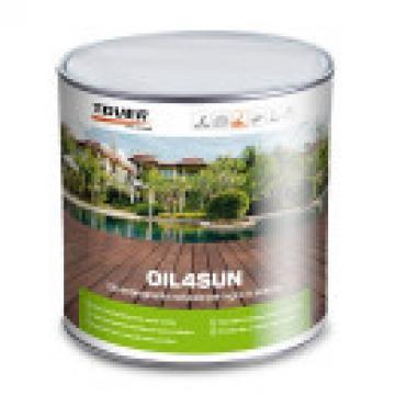 Ulei pentru parchet Deck Oil4Sun UV natur de la Expert Parchet Srl