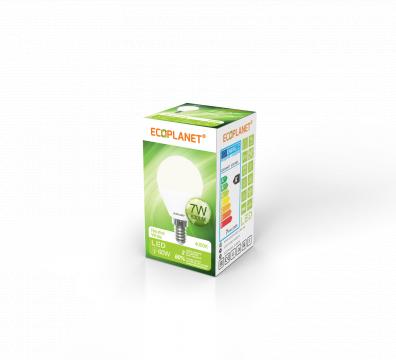 Bec LED G45, 7W (60W), 175-265V, 630LM, 4000K, E14 de la BCV International Group