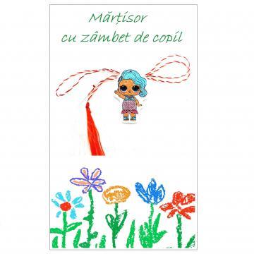 Martisor Papusa LOL pe cartonas APL11-AT13 - set 50 bucati de la Eos Srl (www.martisoare-shop.ro)