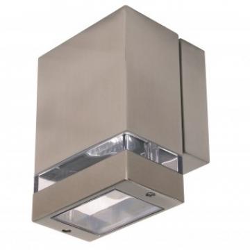 Aplica de exterior Gardenya-1, Inox, IP44, GU10, putere 35 W de la Viva Metal Decor Srl