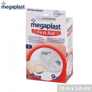 Bandaj autoadeziv 10mx3,8 cm - Megaplast de la Plasma Trade Srl (happymax.ro)