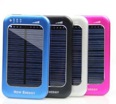 Baterie solara pentru telefoane si tablete WN-808 5000 mAh