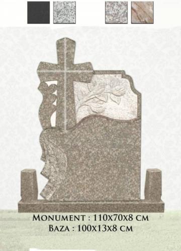 Cruce granit FL3-29 de la Casa Funerara Eva Srl