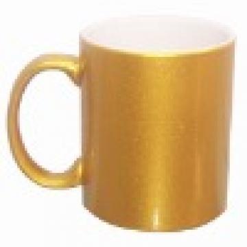 Cana personalizata de culoare auriu cu efect metalic