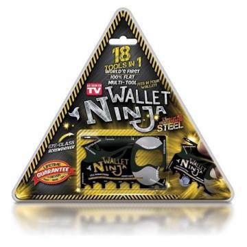 Card cu functii multiple 18 in 1 Ninja Wallet