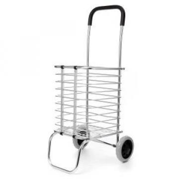 Cos pliabil cumparaturi metalic cu roti ZLN1690 de la Preturi Rezonabile