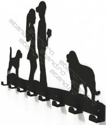Cuier metalic Copii la prima intalnire 3014 de la Rolix Impex Series Srl