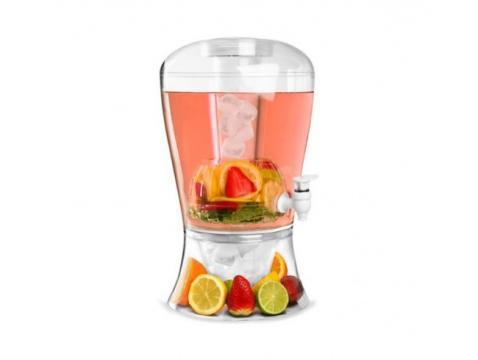 Dispenser limonada cu robinet, capacitate de 6 litri de la Thegift.ro - Cadouri Online