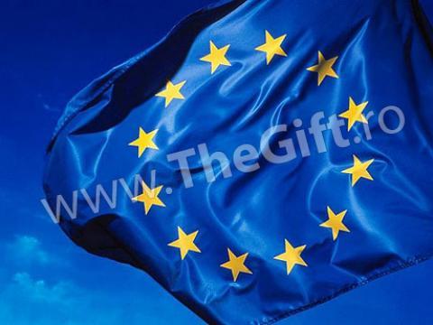 Drapel Uniunea Europeana de la Thegift.ro - Cadouri Online