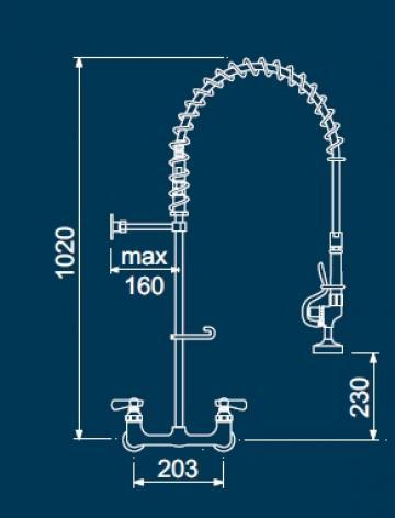 Dus prespalare vase cu doi robineti 547303 de la Kalva Solutions Srl