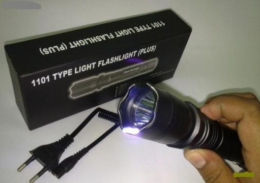 Electrosoc lanterna Police 1101