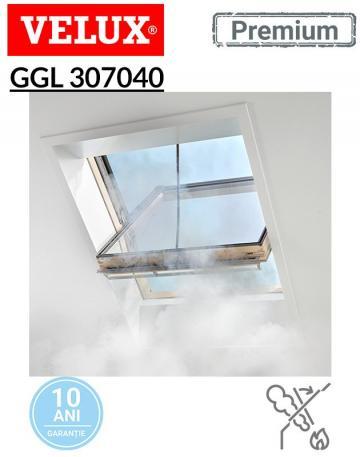 Fereastra pentru evacuarea fumului Velux GGL 307040 de la Deposib Expert