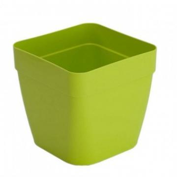 Ghiveci plastic Strend Pro ICS Pandora 21x19 cm, verde