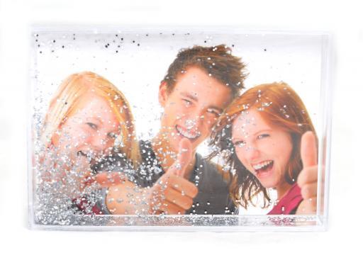 Glob foto dreptunghi cu paiete de la Alconcept Product SRL