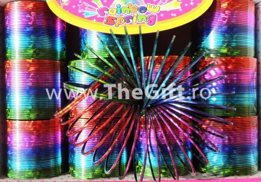 Jucarie Slinky mare, metalizata de la Thegift.ro - Cadouri Online