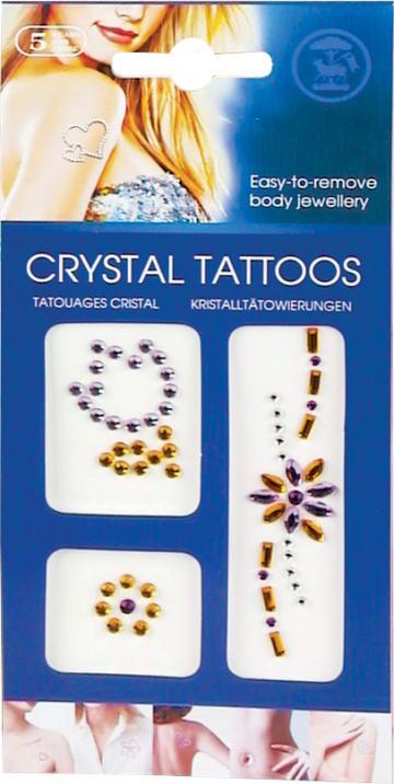 Kit tatuaje cu cristale de la Plasma Trade Srl (happymax.ro)