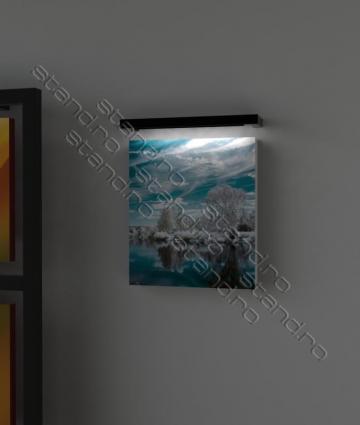 Lampa metalica iluminare tablouri 1842 de la Rolix Impex Series Srl