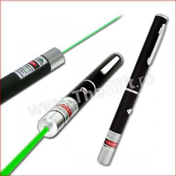 Laser pointer verde de 500 mW de la Thegift.ro - Cadouri Online
