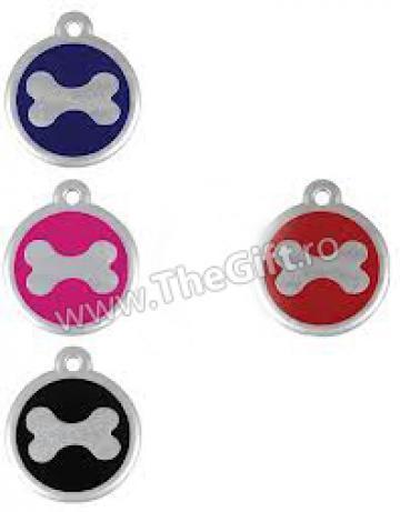 Medalion pentru catei si pisici Os
