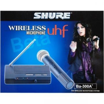 Microfon profesional wireless UHF Shure BA-300A
