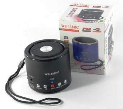 Mini boxa cu MP3 Player WS-138RC