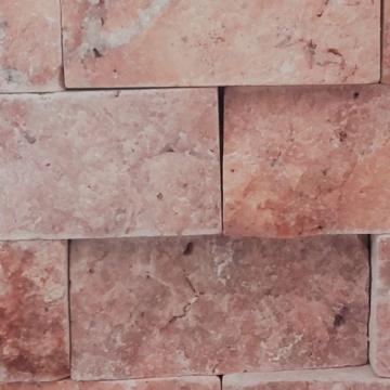 Mozaic Travertin Rosu Rosu Scapitat 5 x 2,5 x 2