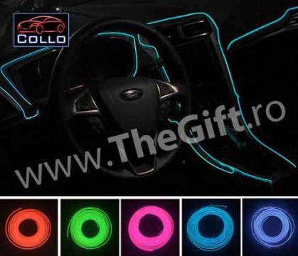 Neon flexibil pentru interiorul masinii