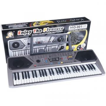 Orga electronica MQ-001UF cu 61 clape ,USB, MP3, Radio Fm