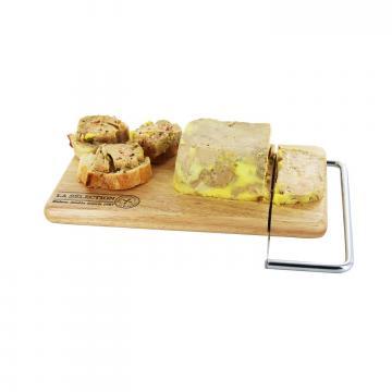Platou lemn taiere branza si foi gras de la Plasma Trade Srl (happymax.ro)
