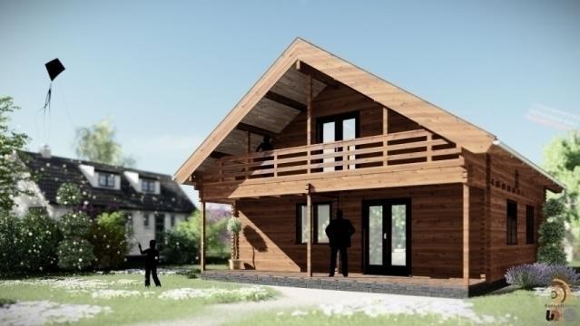 Casa de locuit din lemn Sambeek de la Korondi Arcso Srl