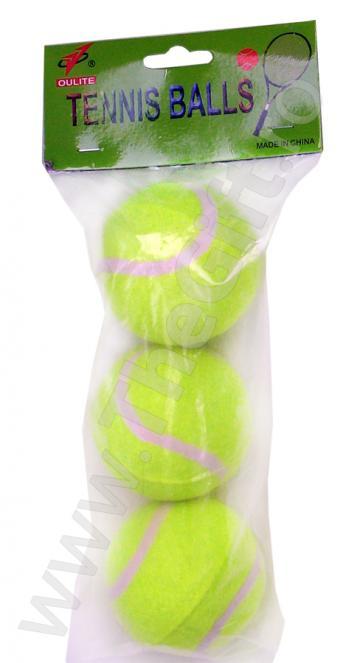 Set mingi tenis de camp 3 bucati