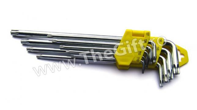 Set 9 chei torx T10-T50 de la Thegift.ro - Cadouri Online