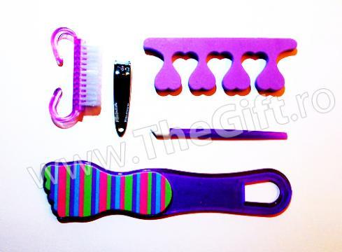 Set pentru pedichiura si manichiura de la Thegift.ro - Cadouri Online