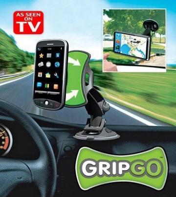 Suport auto pentru telefon mobil Apple iPhone GripGo de la Www.oferteshop.ro - Cadouri Online